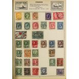 """COLLECTIONS & ACCUMULATIONS WORLD COLLECTION in an """"Everest"""" album to about 1930's, some"""