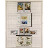 CYPRUS TURKISH CYPRIOT POST 1976-1985 almost complete never hinged mint collection, with a few