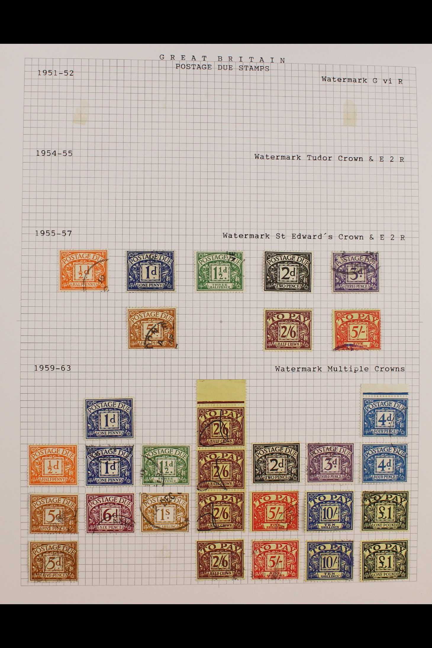 GB.ELIZABETH II 1953-1999 fine used collection in two albums with extensive Wilding & - Image 16 of 18