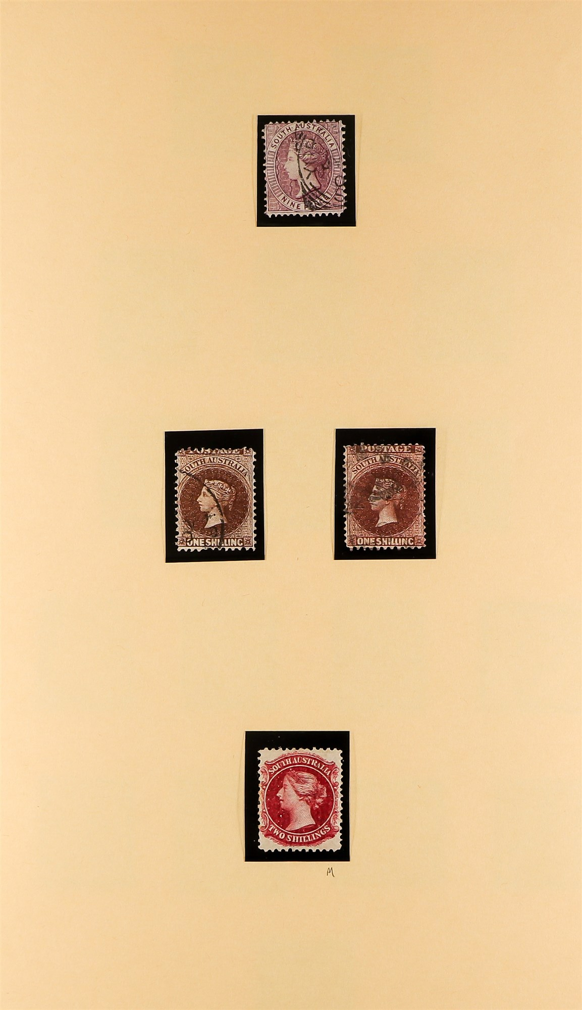 AUSTRALIAN STATES SOUTH AUSTRALIA 1858-1912 mainly used collection incl.1858-9 First Roulettes all - Image 10 of 10