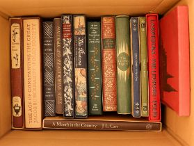 FOLIO SOCIETY BOOK COLLECTION. Eighteen books, mainly with slipcases. Authors include Shakespeare,