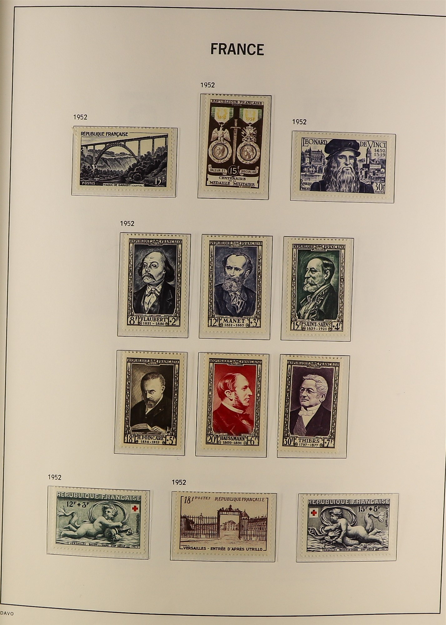 FRANCE 1849-2009 EXTENSIVE COLLECTION of mint and used in thirteen albums, incl. mint (largely never - Image 13 of 16