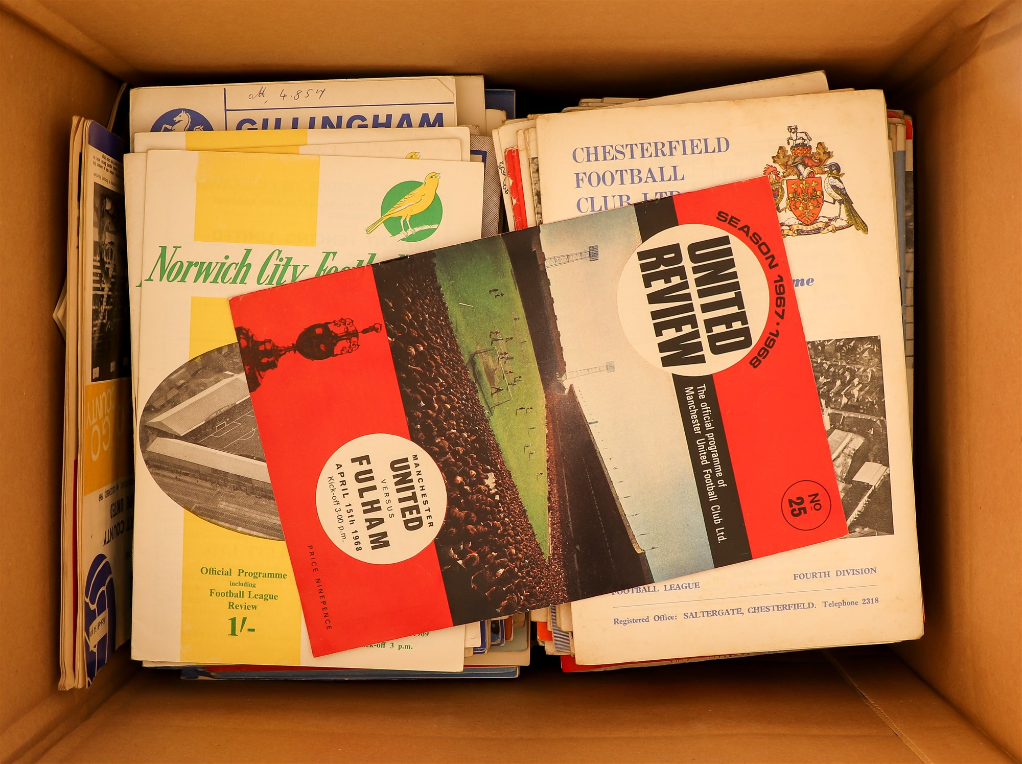 FOOTBALL PROGRAMMES - 1960's SELECTION. A range of clubs with a stronger representation of Everton, - Image 4 of 4