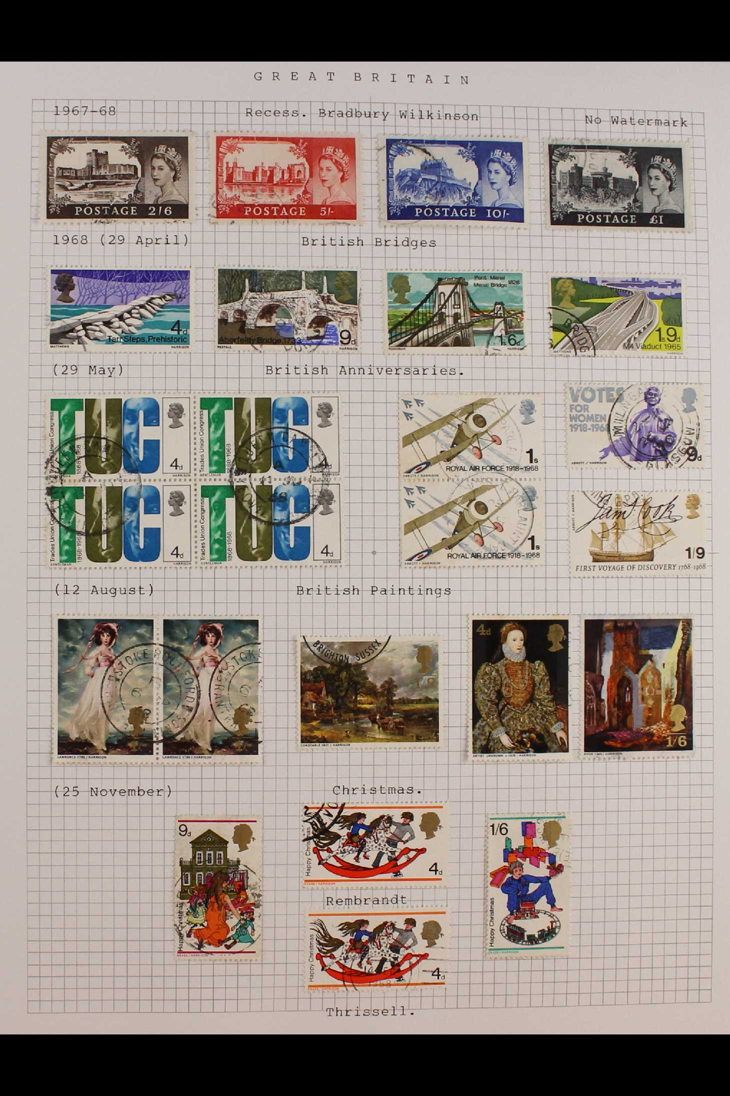 GB.ELIZABETH II 1953-1999 fine used collection in two albums with extensive Wilding & - Image 5 of 18