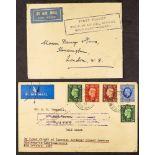 GOLD COAST 1937 FLIGHT COVERS (7 October) Imperial Southampton-Khartoum-Accra from London, (10