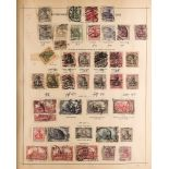 COLLECTIONS & ACCUMULATIONS WORLD IN A 1913 SCHAUBEK PERMANENT PRINTED ALBUM from 19th century and