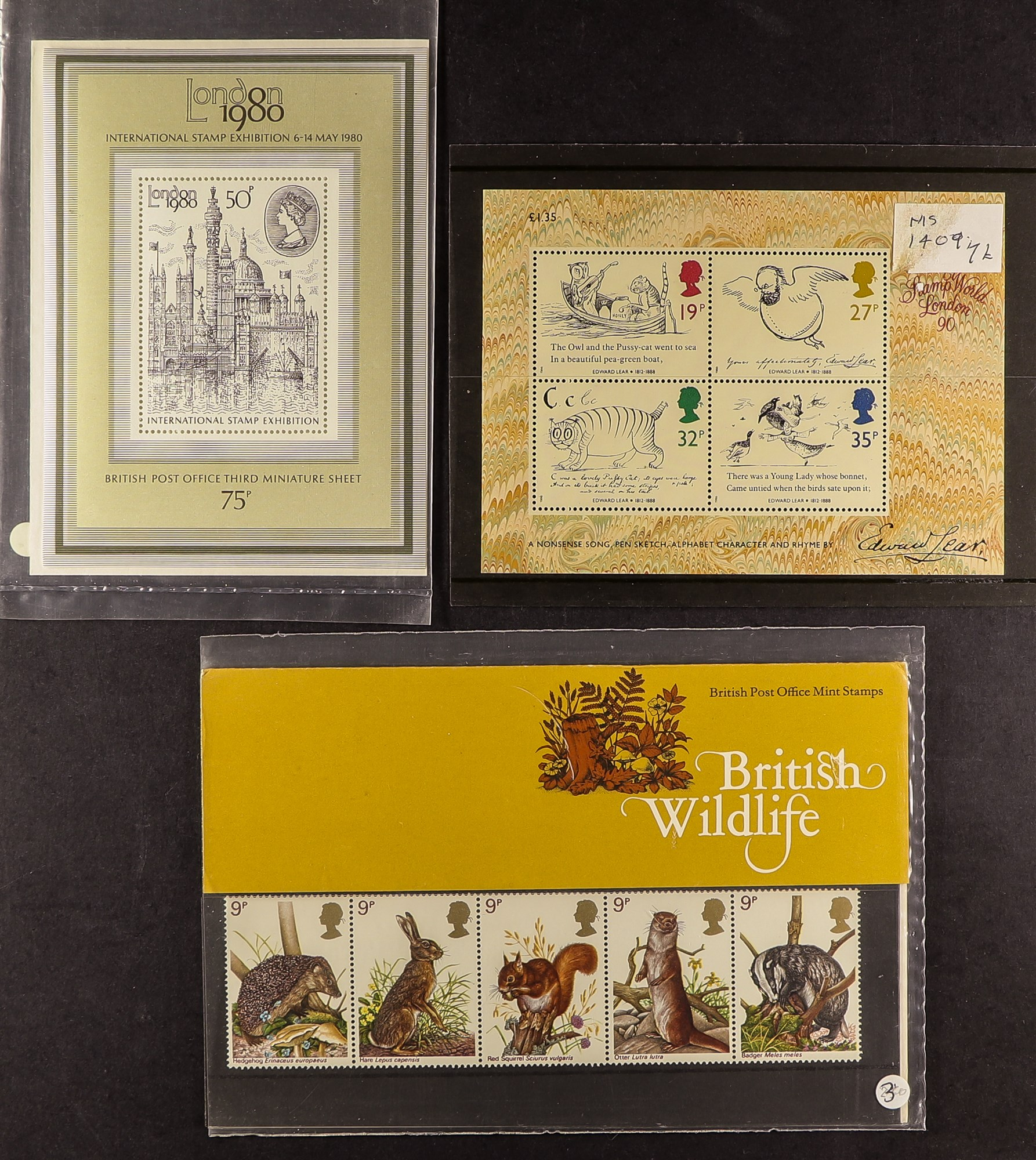 GB.ELIZABETH II SMALL BOX OF MINT STAMPS Mainly presentation packs but includes and Prestige - Image 7 of 7