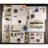 COLLECTIONS & ACCUMULATIONS TITANIC collection of largely Benham commemorative covers 1998-2014,