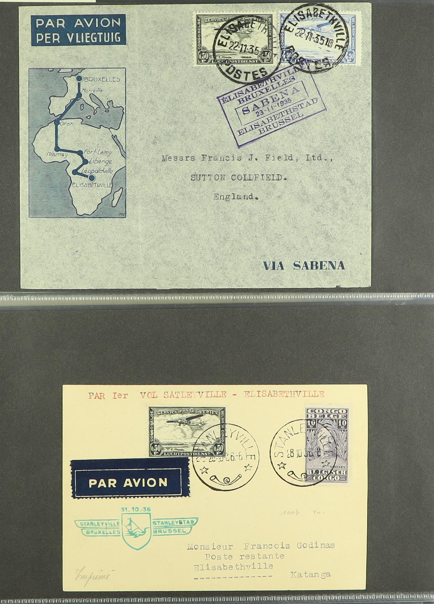 RHODESIA AIRMAIL COVERS COLLECTION 1930's-60's with Rhodesian & Nyasaland Airways (15), Nyasaland- - Image 8 of 10