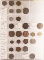 COINS AND COIN COVERS COLLECTION two albums with an interesting range of world issues, some 19th