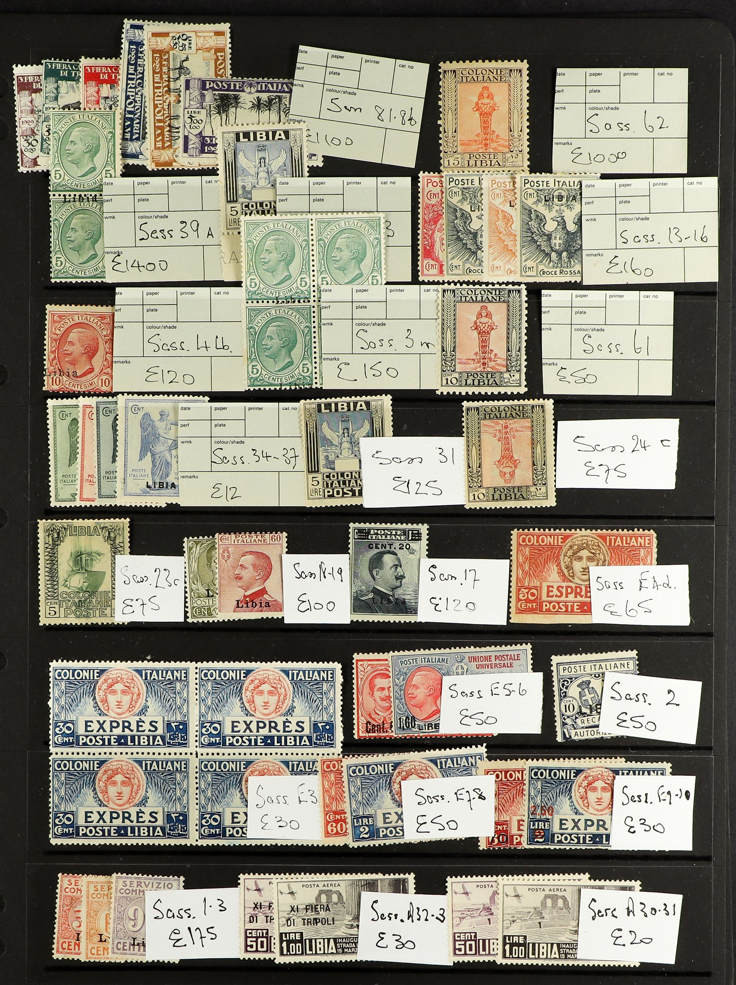 ITALIAN COLONIES LIBYA 1912-1941 Mint only collection of complete sets and better items including - Image 3 of 5
