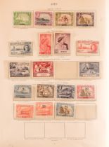 COLLECTIONS & ACCUMULATIONS COMMONWEALTH KGVI MINT COLLECTION IN A CROWN ALBUM (1956 edition) with