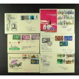 """GB.FIRST DAY COVERS 1937-97 a collection of largely better """"put asides"""", incl. many Official issues,"""
