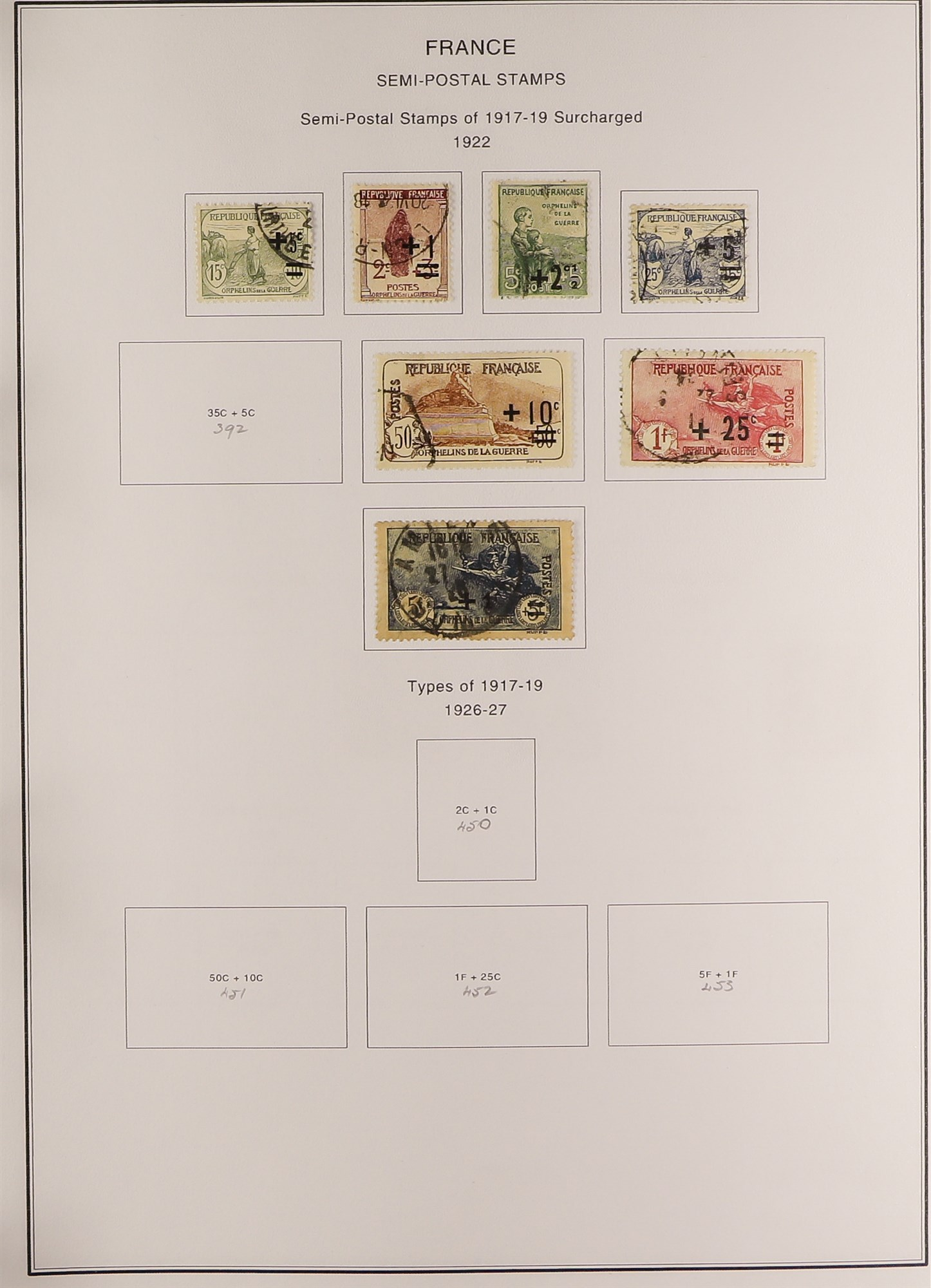 FRANCE 1849-2009 EXTENSIVE COLLECTION of mint and used in thirteen albums, incl. mint (largely never - Image 4 of 16