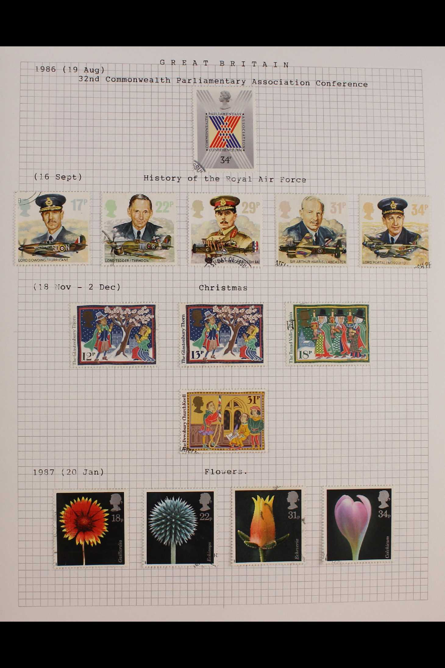 GB.ELIZABETH II 1953-1999 fine used collection in two albums with extensive Wilding & - Image 8 of 18