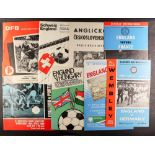 FOOTBALL PROGRAMMES - 'BIG MATCH' AND MINOR CUPS. Approximately 133 programmes which include