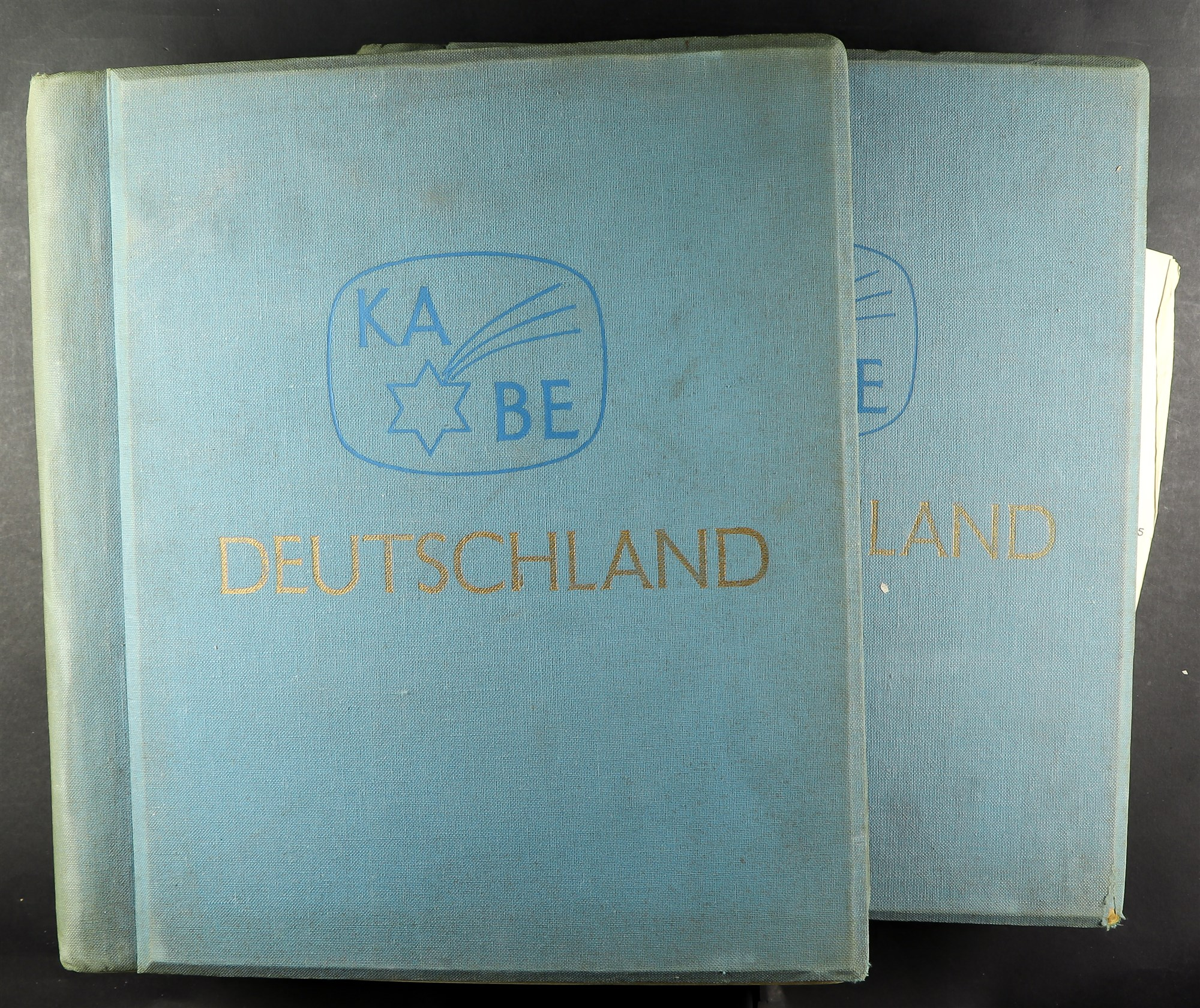 COLLECTIONS & ACCUMULATIONS FRANCE, GERMANY, SWITZERLAND IN TWO LARGE KA-BE ALBUMS with useful - Image 11 of 12