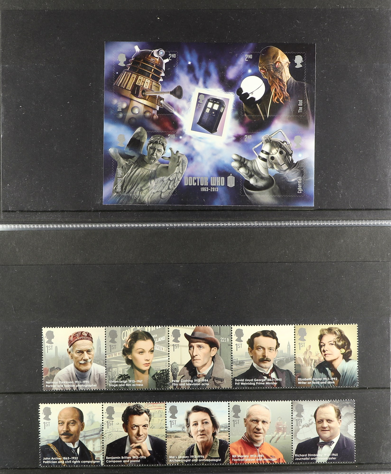 GB.ELIZABETH II 2013 - 2020 COMPREHENSIVE MINT COLLECTION which includes the commemorative stamp - Image 3 of 8