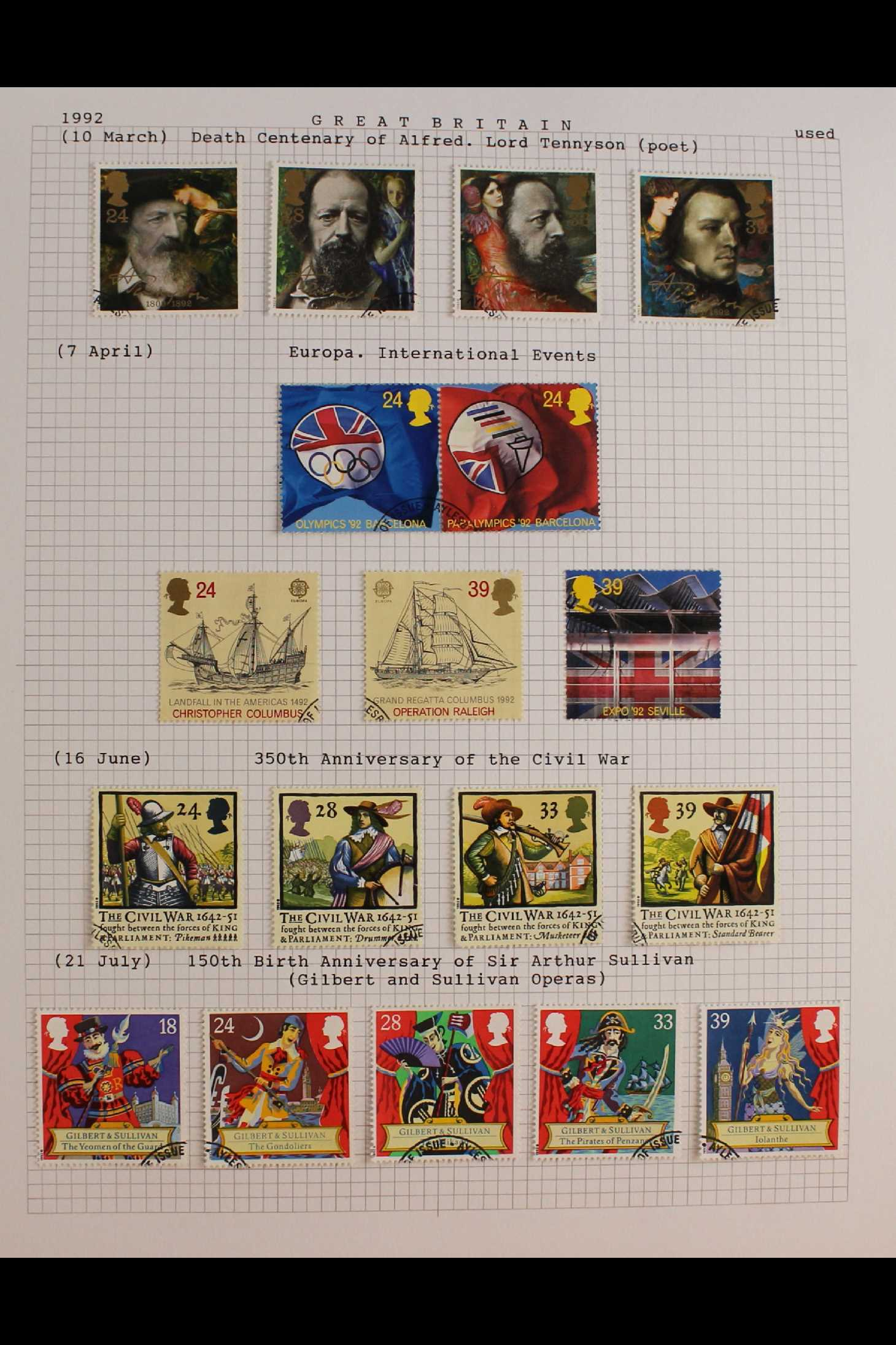 GB.ELIZABETH II 1953-1999 fine used collection in two albums with extensive Wilding & - Image 11 of 18