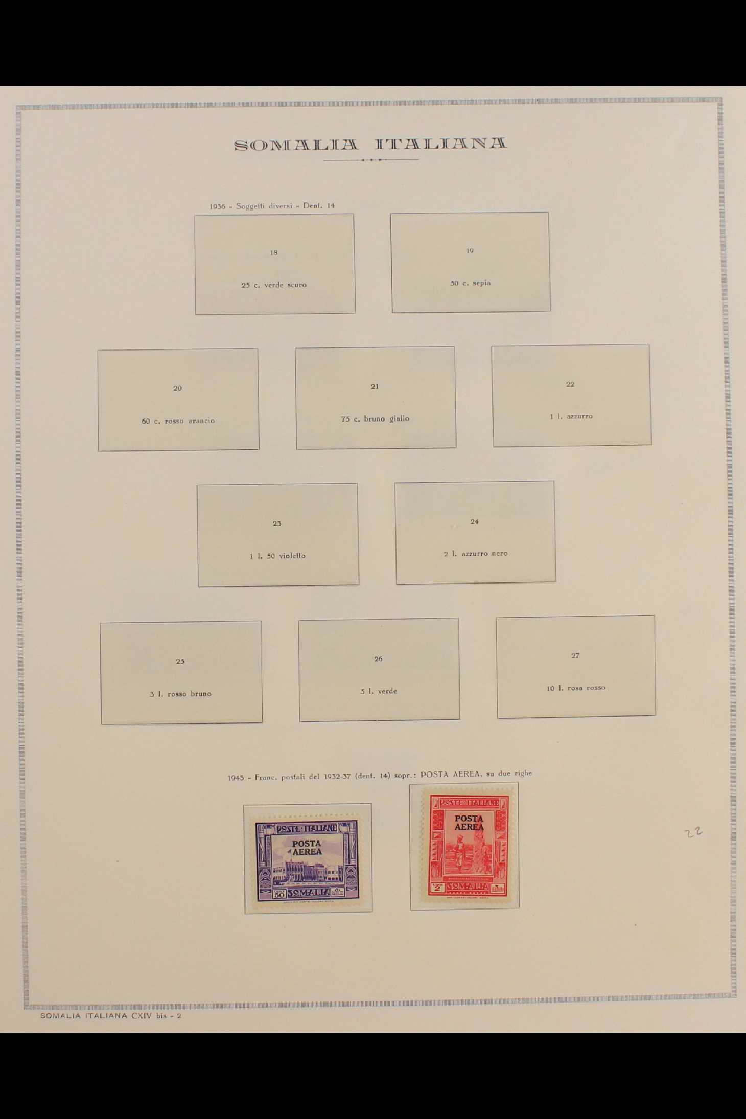 ITALIAN COLONIES SOMALIA 1922-1940 fine mint collection incl.1922 surcharged set, 1923 Fide set NHM, - Image 14 of 18