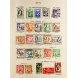 """COLLECTIONS & ACCUMULATIONS COMMONWEALTH QE2 1953-70 FINE USED COLLECTION IN TWO """"NEW AGE"""" ALBUMS"""