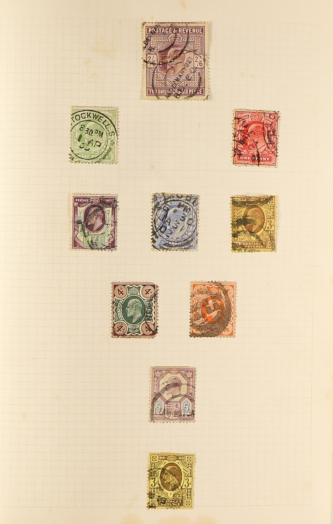GREAT BRITAIN 1841-1980's collection in three albums, and useful Victorian and Kings, later incl. - Image 5 of 7