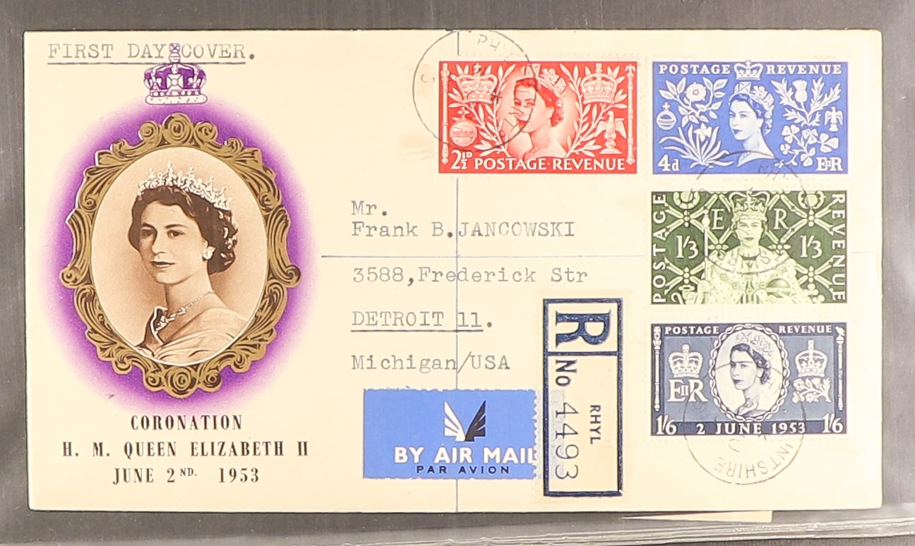 GB.FIRST DAY COVERS 1953 - 1969 COLLECTION includes 1953 Coronation (x2), 1957 Scouts with Sutton - Image 3 of 4