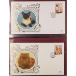COLLECTIONS & ACCUMULATIONS CATS 1990's BENHAM COVERS COLLECTION in an album. (34 covers)