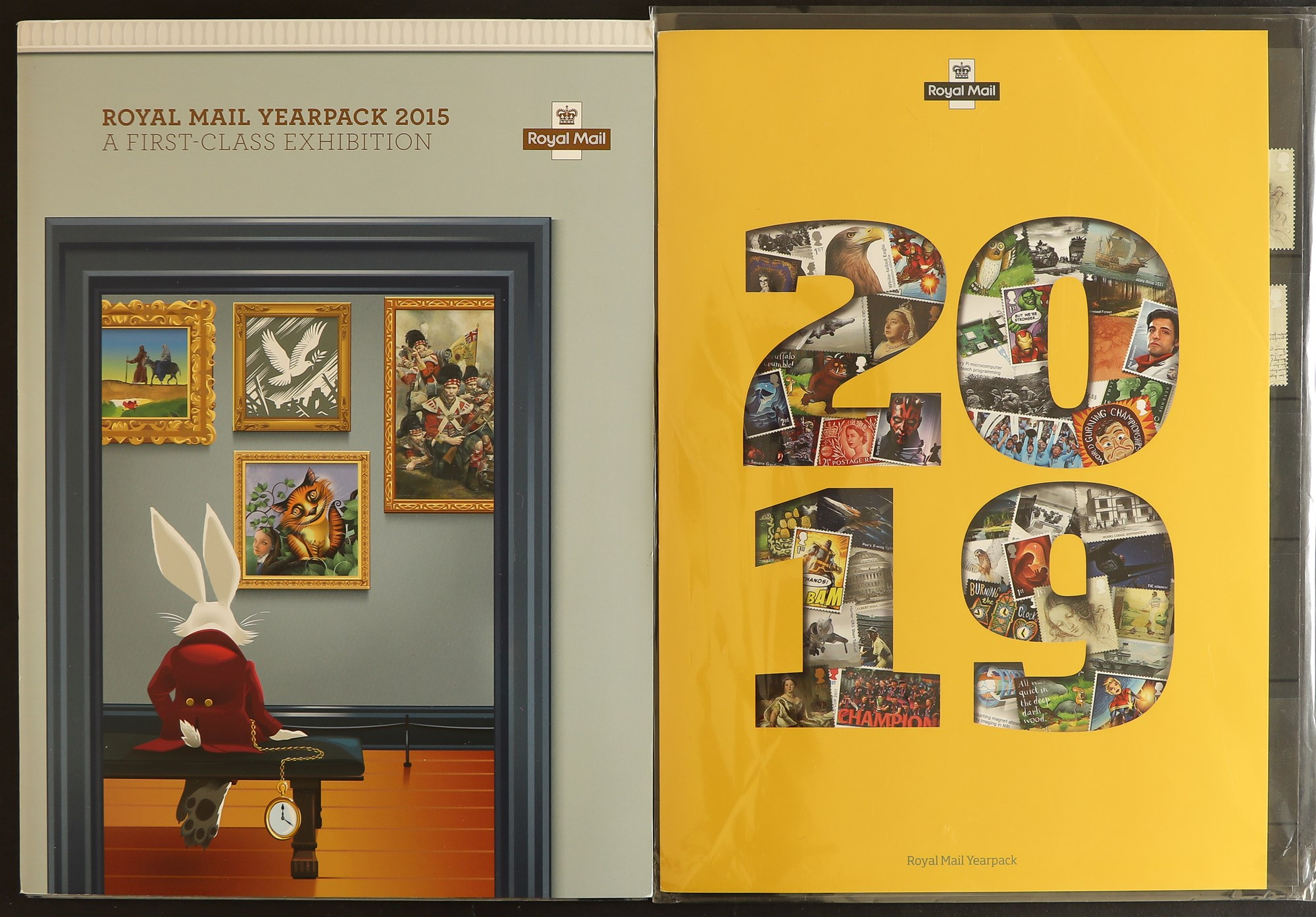 GB.ELIZABETH II YEARPACKS 2015 - 2020. 6 Royal Mail yearpacks which include the commemorative stamps - Image 2 of 3