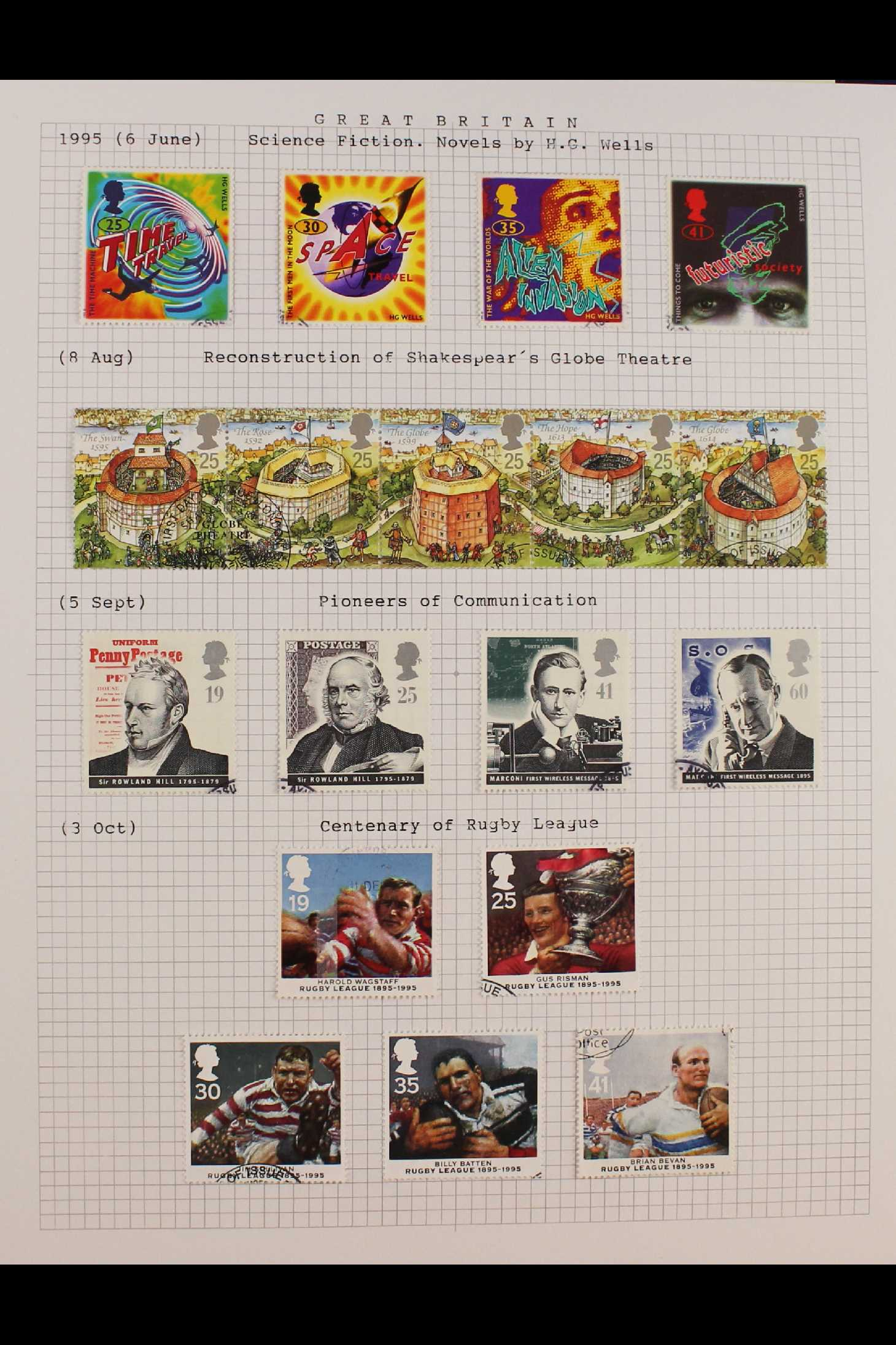 GB.ELIZABETH II 1953-1999 fine used collection in two albums with extensive Wilding & - Image 12 of 18