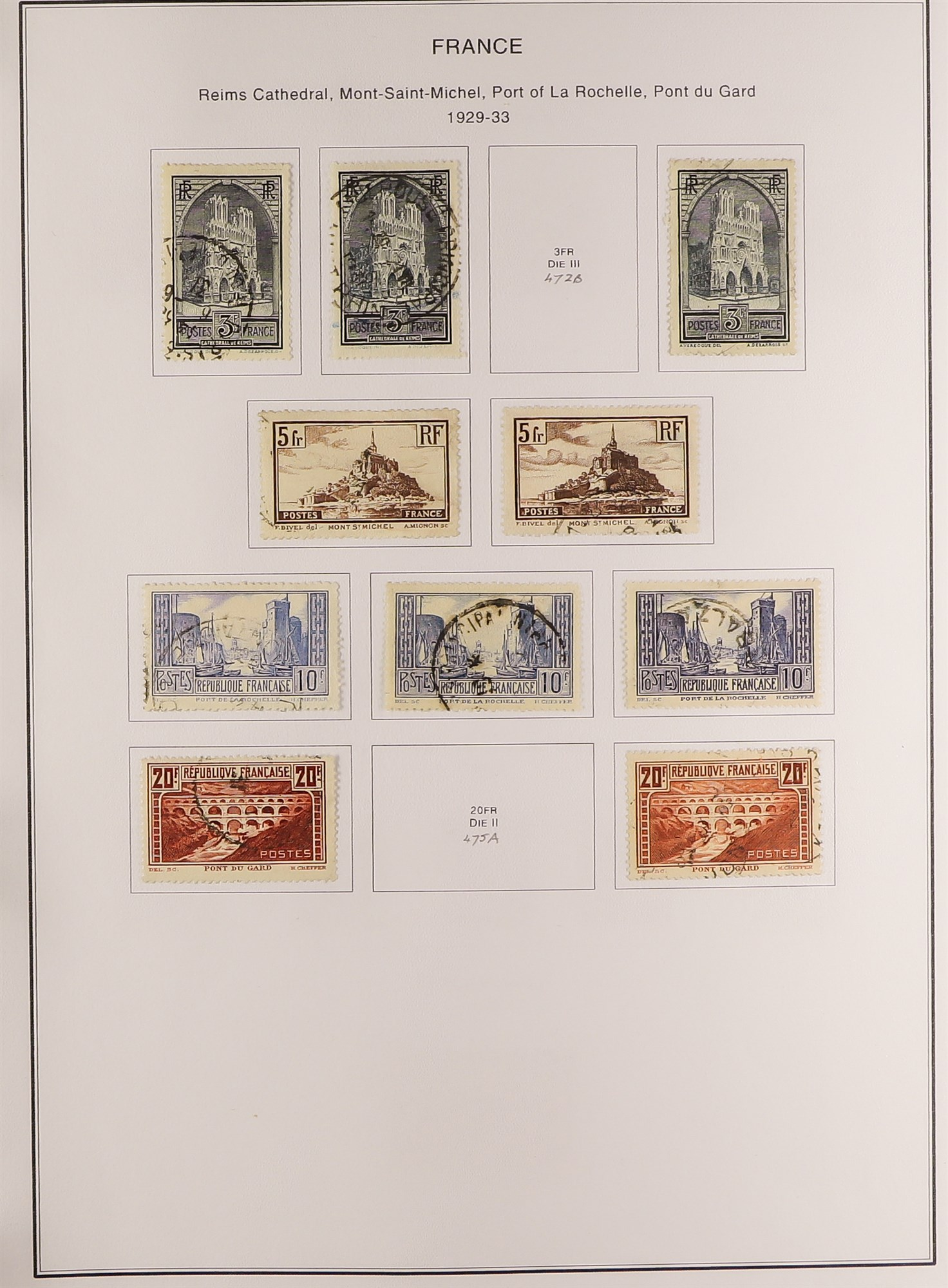 FRANCE 1849-2009 EXTENSIVE COLLECTION of mint and used in thirteen albums, incl. mint (largely never - Image 2 of 16