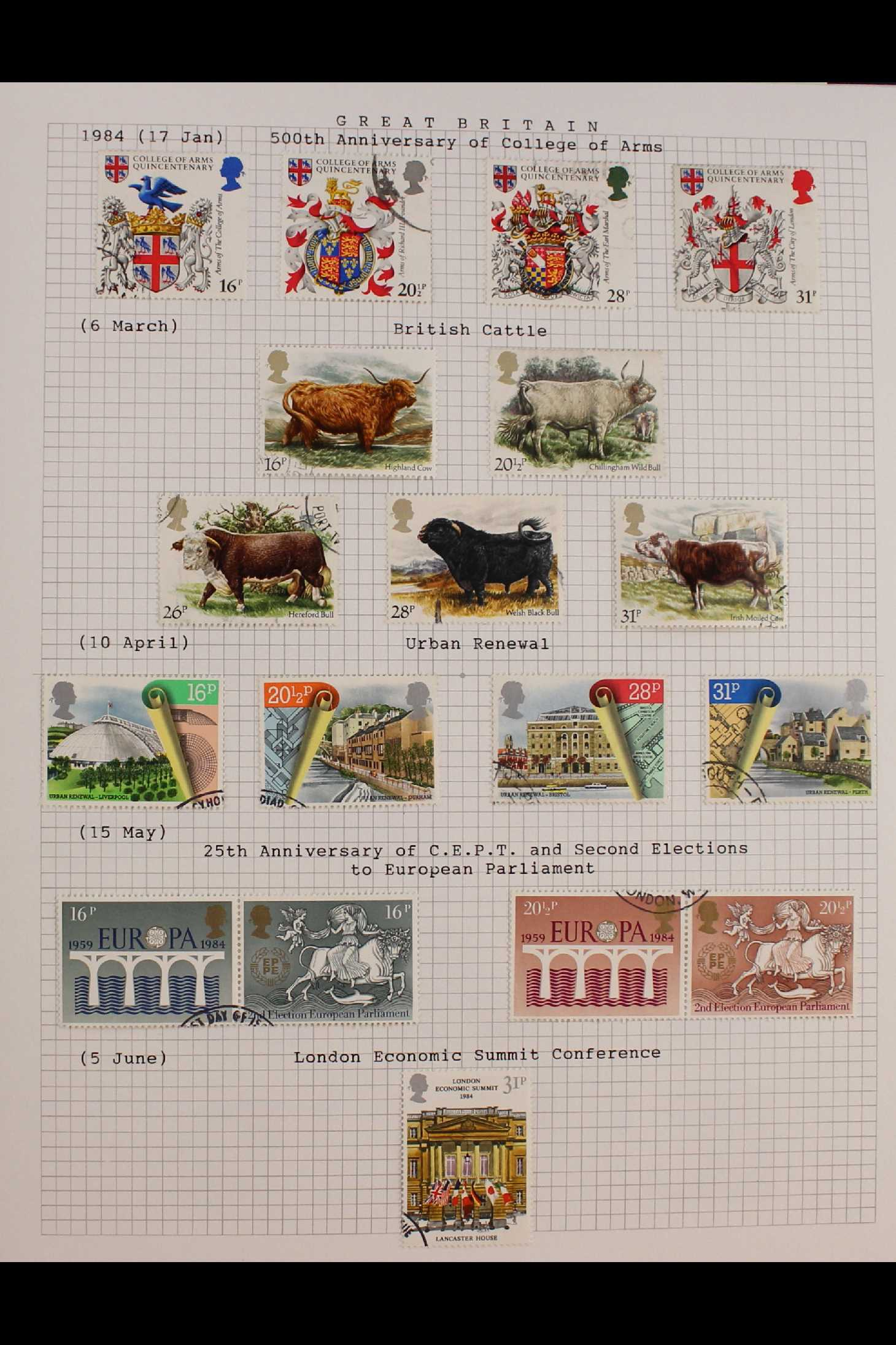 GB.ELIZABETH II 1953-1999 fine used collection in two albums with extensive Wilding & - Image 6 of 18