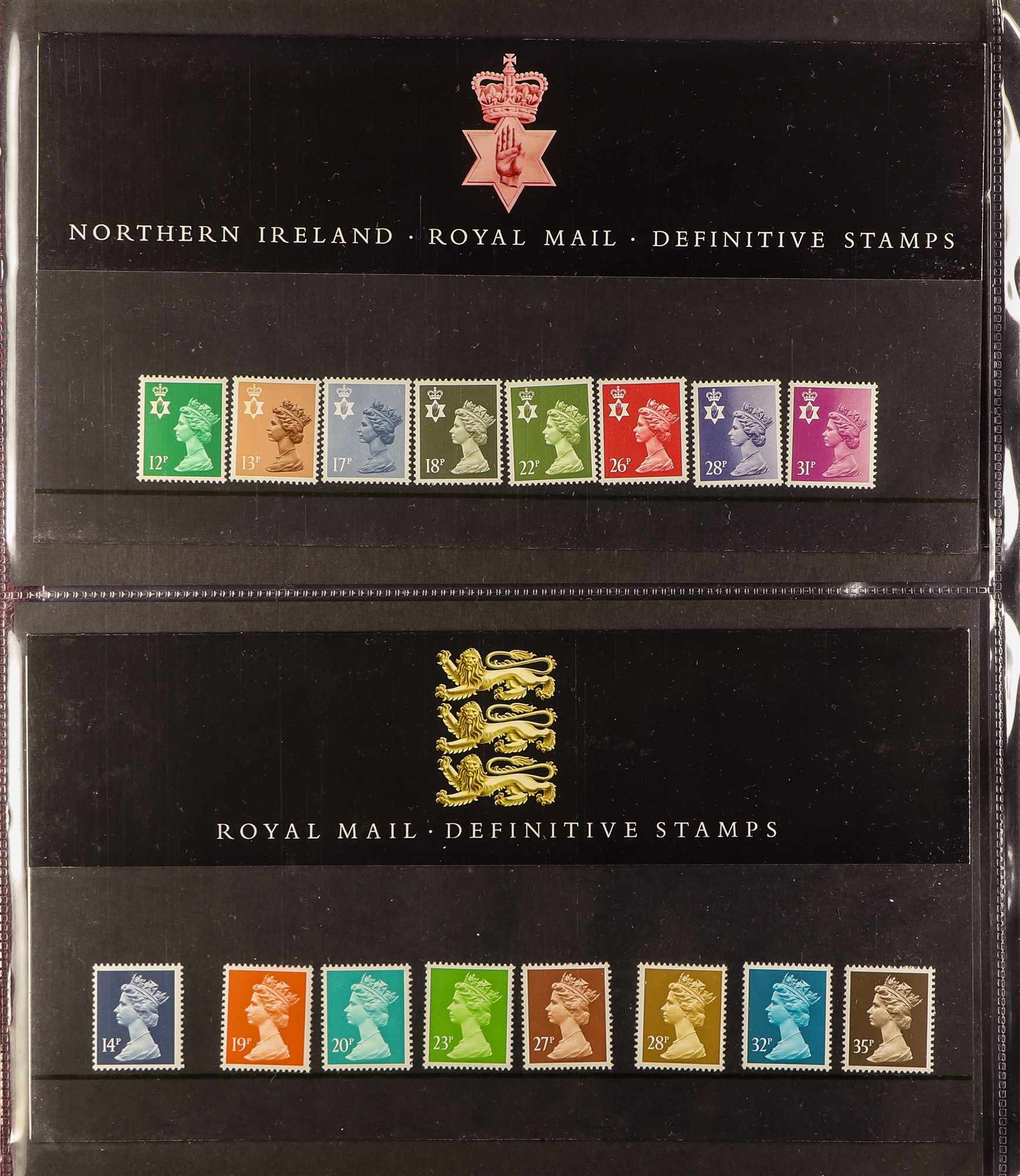 COLLECTIONS & ACCUMULATIONS REMAINDER WITH £52 of face value. Random selection of stamps (mint and - Image 2 of 6