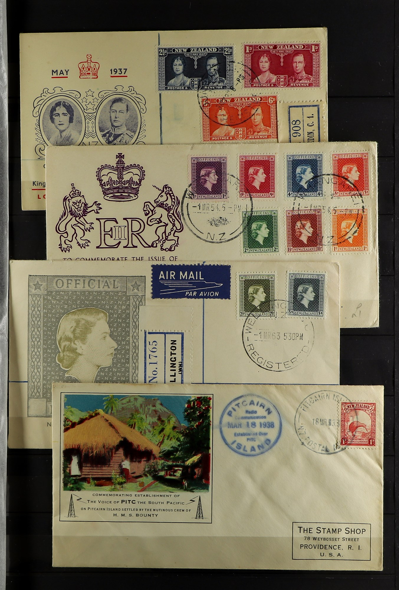 """NEW ZEALAND QV-1990'S USED COLLECTION includes 1929 1d Anti-TB, 1934 7d """"Trans-Tasman"""" opt, 1935 - Image 3 of 8"""