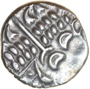 Spread Tail. Durotriges. c.58-45 BC. Celtic silver stater. 19mm. 5.02g.