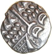Badbury Rings. Durotriges. c.58-45 BC. Celtic silver stater. 19mm. 5.34g.