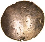 Yoke Sunflower. Sills class 1,Ribbon Rosette.c.50-40 BC. Celtic gold quarter stater. 11-13mm. 1.35g.