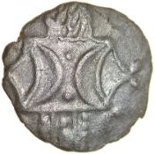 Antedios D-Bar. Talbot die group 3, dies N/31. Iceni. c.AD 35-40. Celtic silver unit. 14mm. 1.05g.