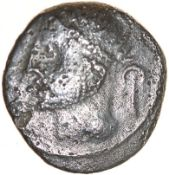 Touto Walking Victory. Sword Type. Cantiaci. c.AD10-15. Celtic silver unit. 12mm. 1.19g.