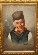 Filippo Marantonio 1863-1937 Italian fisherman