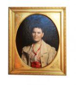Italian antique portrait