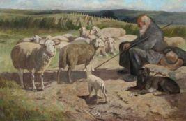 Hans Willi Burger-Willing 1882 - 1969 Shepherd
