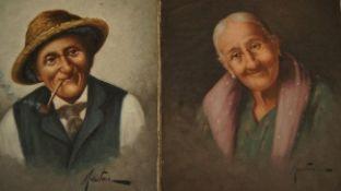 Filippo Marantonio 1863-1937 Elderly couple