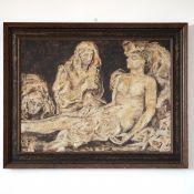 "Painting ""Burial of Jesus"""
