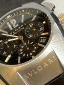 Bulgari Ergon Chronograph Automatic 40mm Steel Watch