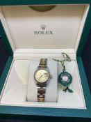 Rolex Steel & Gold Ladies Watch 6917 with Box