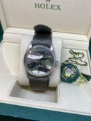 Rolex Stainless Steel with Gold Bezel - Camouflage Dial Comes boxed, Dial & Strap most likely