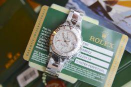 *Beautiful* Rare 'Rolesium' Rolex Yachtmaster - Steel & Platinum (950) (Rolex Certificate/ Box etc.)