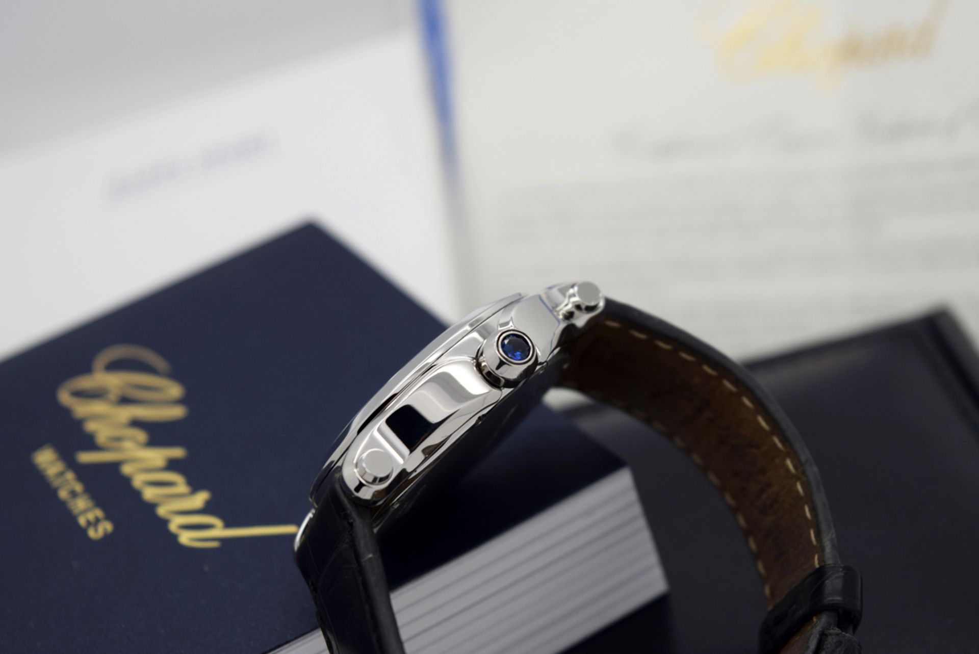 Chopard Happy Sport - Diamond Model with Mother of Pearl Dial! - Image 8 of 12