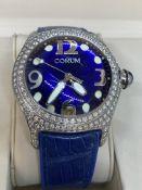 CORUM BOUTIQUE APPROX 4.50ct H-VS DIAMOND SET WATCH